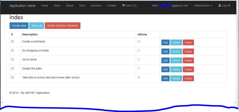 Delete multiple records in ASP NET MVC 5   Tajuddin's Blog