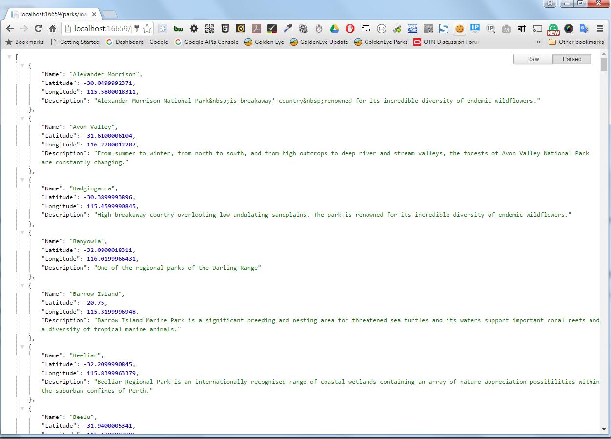 Google Map in ASP NET MVC 5 and AJAX | Tajuddin's Blog