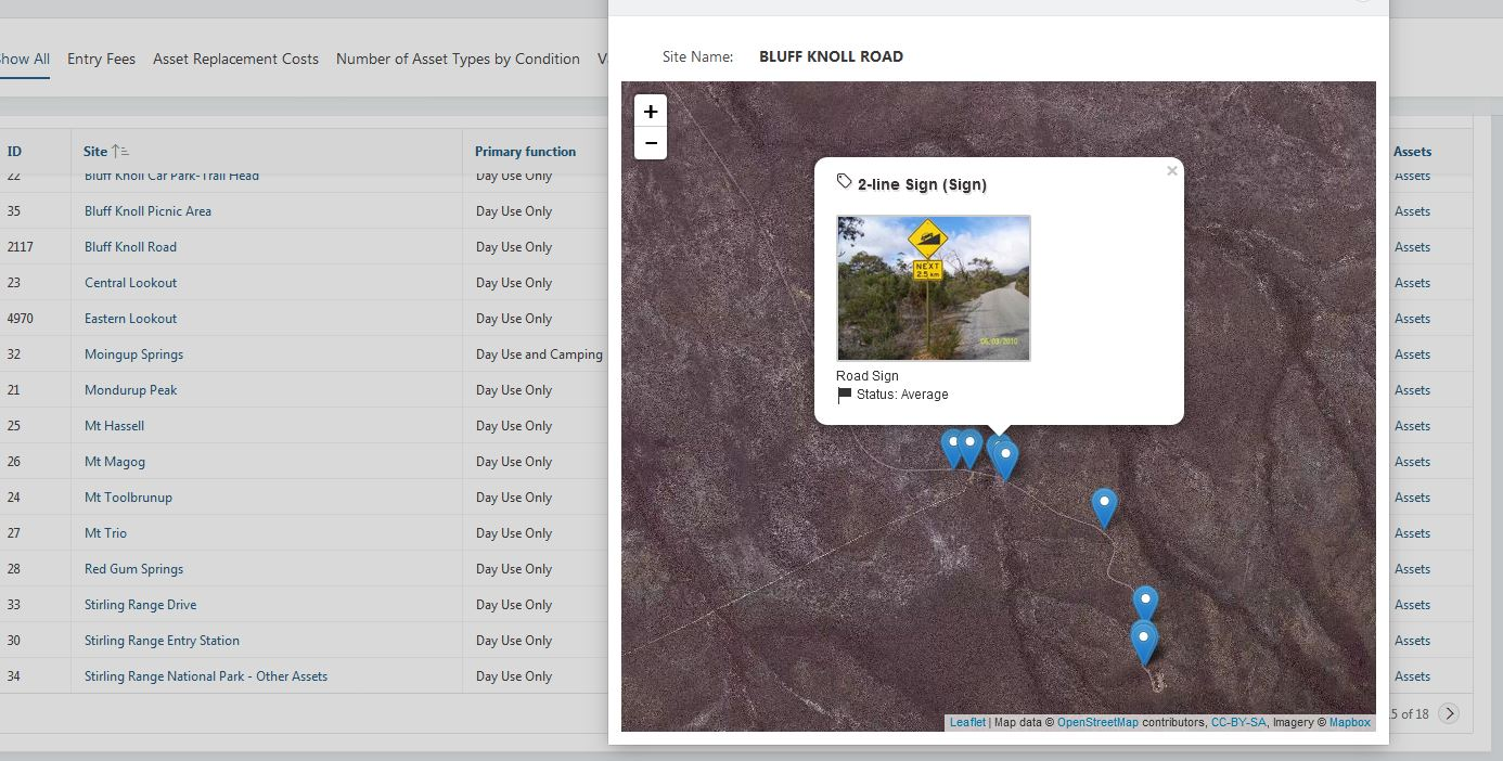 Integrate leaflet map with Oracle APEX 5 using jQuery and